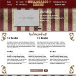 Hullabaloo Circus Design Screenshot
