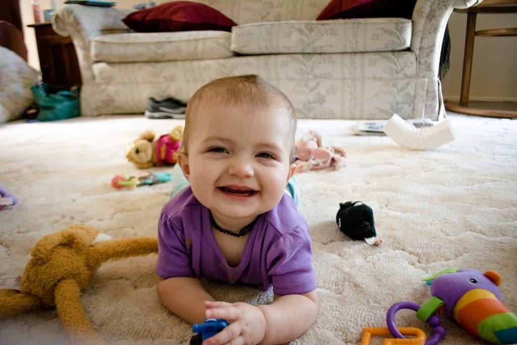 Baby Delaney (Smiles), Source: Flickr